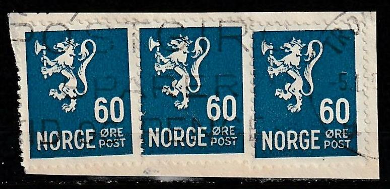 #234 Norway Used on paper