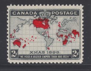 Canada Sc 85 MLH. 1898 2c Imperial Penny Postage, fresh, bright, F-VF