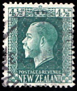 New Zealand Scott 152 Used with a short perforation.