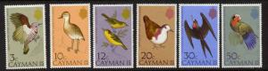 Cayman Islands 354-9 MNH Birds