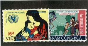 VIETNAM 337-338 MNH SCV $3.00 BIN $1.50 UN