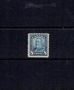 CANADA 1928 EIGHT CENT KING GEORGE V SCROLL ISSUE - SCOTT 154 -  MNH