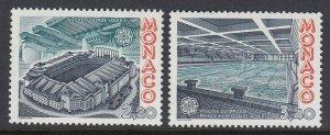Monaco 1563-4 Louis II Stadium Europa mnh