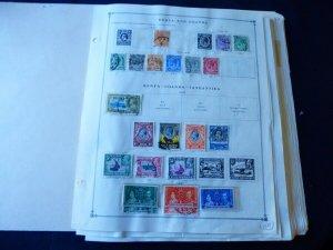 Worldwide 1860-1940 Stamp Collection on Scott International Album Pages