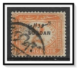 Sudan #J4 Postage Due Used