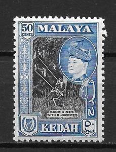Malaya - Kedah 90 Sultan single MLH