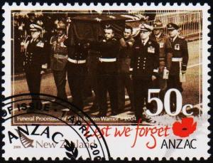 New Zealand. 2009 50c  Fine Used