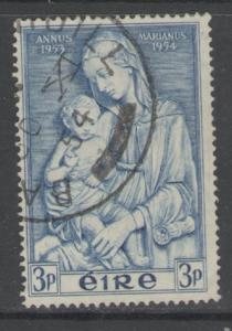 IRELAND SG158 1954 MARION YEAR 3d FINE USED