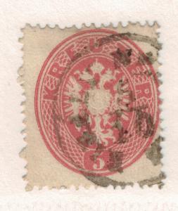 Austria Stamp Scott #19, Used - Free U.S. Shipping, Free Worldwide Shipping O...