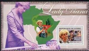 Guinea 2006 PRINCESS DIANA RED CROSS s/s Perforated Mint (NH)