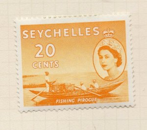 Seychelles 1954 Early Issue Fine Mint Hinged 20c. NW-99401