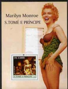 St Thomas & Prince Islands 2004 Celebrities (Marilyn ...
