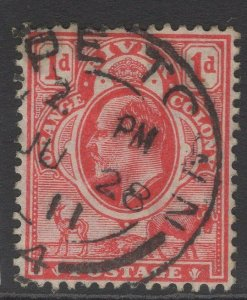 ORANGE FREE STATE SG149 1905 1d SCARLET USED