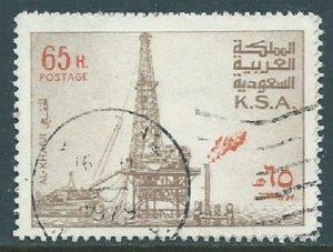 Saudi Arabia, Sc #743, 65h Used