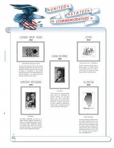 2018 U.S. Commemorative Singles COMPLETE Supplement (Similar to White Ace)