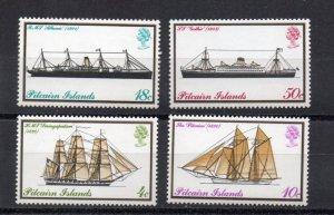 Pitcairn #147-150 MNH
