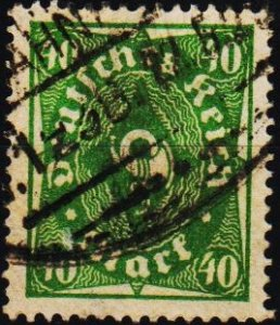 Germany.. 1921 40pf S.G.216 Fine Used