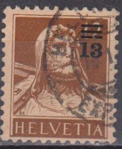 Switzerland #188 F-VF Used (ST1298)