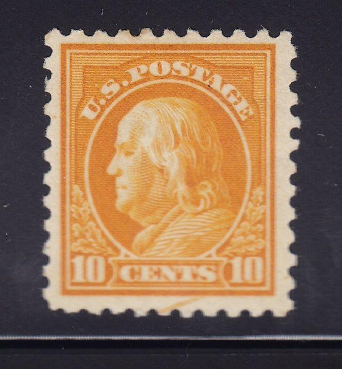 433 VF original gum previously hinged with nice color cv $45 ! see pic !