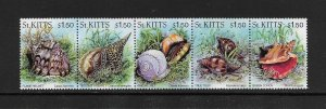 SHELLS - ST KITTS #406  MNH