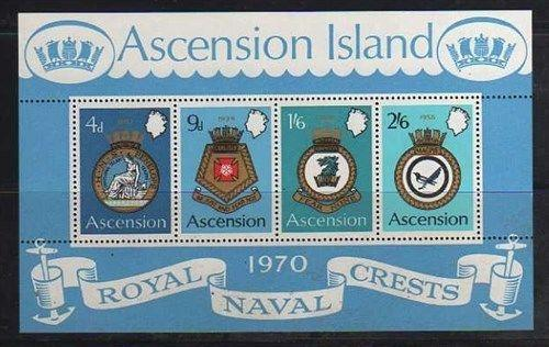 Ascension MNH sc# 137a CoA CV $14.00