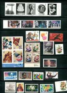 US 2004 Commemorative Year Set 83 stamps including 2 Sheets, Mint NH, see scans
