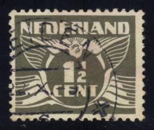 Netherlands #167 Gull, used (0.25)