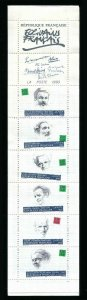 FRANCE 1993 WRITERS BOOKLET  SC#B654a MNH LITERATURE