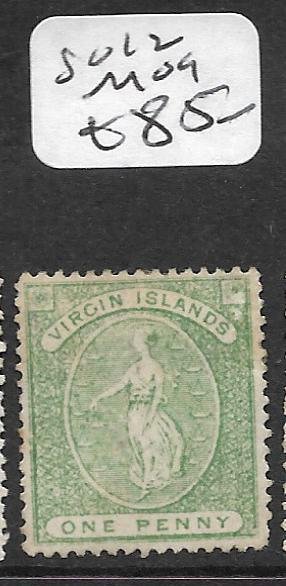 VIRGIN ISLANDS  (P2910B)  1D SG12  MOG