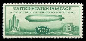 momen: US Stamps #C18 Mint OG NH VF