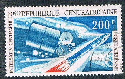 Central African Rep C98 Used Space Module  (BP4016)