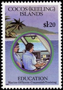 Cocos Islands #278-282, Complete Set(5), 1993, Never Hinged