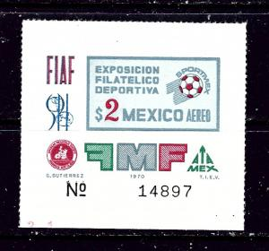 Mexico C374 MNH 1970 issue