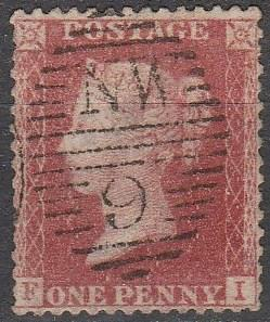 Great Britain #20 F-VF Used CV $11.50 (A15997)