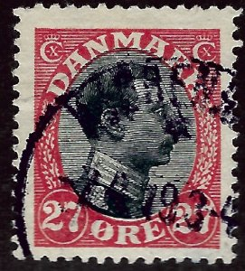 Denmark SC#110 Used F-VF hr Cat $60.00...steal the deal!!