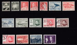 Greenland - #1 to 120 - SCV $8.55 = 8 Cents Each