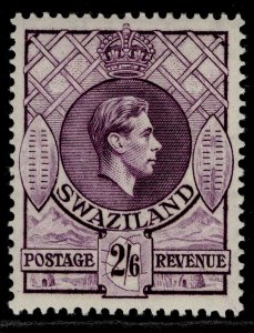 SWAZILAND GVI SG36a, 2s 6d bright violet, M MINT. Cat £32.