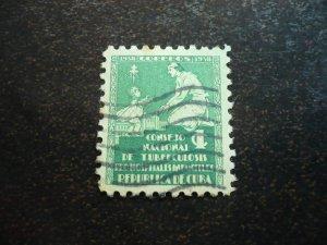 Stamps - Cuba - Scott# RA1, Used Single Postal Tax Stamp
