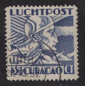 Netherlands Antilles   #C9  Curacao used  1931 Mercurius 35 ct