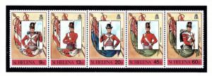 St Helena 509 MNH 1989 Flags and Military Uniforms
