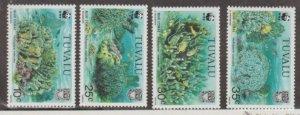 Tuvalu Scott #617-620 Stamps - Mint NH Set