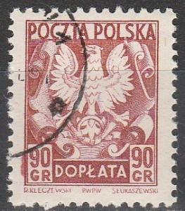 Poland #J131 F-VF Used (V2499)