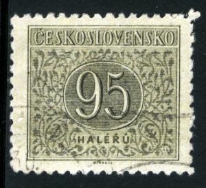 CZECHOSLOVAKIA - #J87 - USED - 1954 - CZECH295AFF3