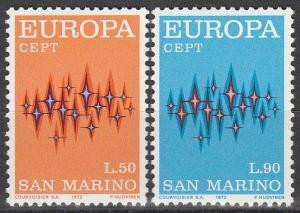 San Marino #771-2  MNH (S2054)