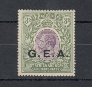 Tanganyika GEA KGV 1919 3R O/P SG67 MH Gum J8440