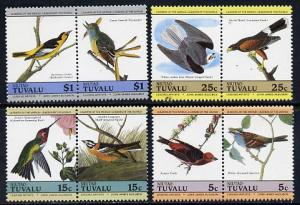 Tuvalu - Niutao 1985 John Audubon Birds (Leaders of the W...