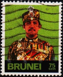 Brunei. 1975 75c S.G.229 Fine Used