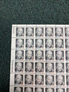 1394 8cent Eisenhower Sheet Of 100 Misperf.  Mint Never Hinged