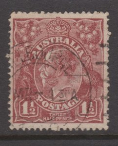 Australia Sc#24a Used