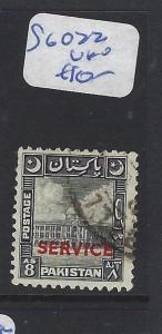 PAKISTAN  (P1810BB)  SG  O22   VFU